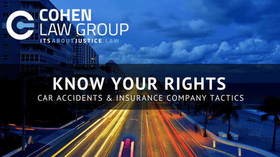 Know Your Rights Car Accidents Insurance Company Tactics